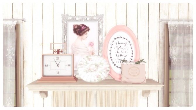 SHABBY CHIC BEDROOM at Dandelion Dust image 494 670x377 Sims 4 Updates