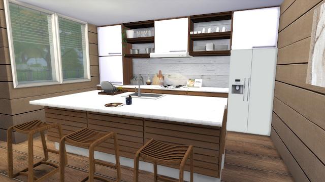 Modern Rustic Kitchen at Dinha Gamer image 495 Sims 4 Updates