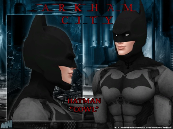 Arkham City Batman costume by AmiSwift at TSR image 498 Sims 4 Updates