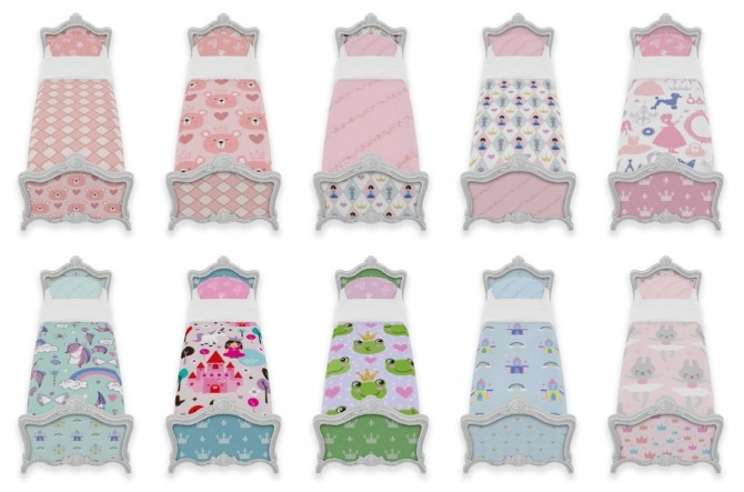 Sims 4 Little Princess Bedroom Set at SimPlistic