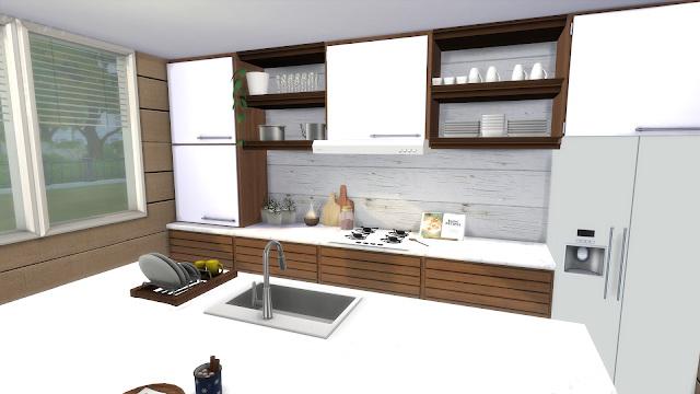 Modern Rustic Kitchen at Dinha Gamer image 505 Sims 4 Updates