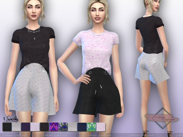 Chaira outfit by carvin captoor at TSR image 510 Sims 4 Updates