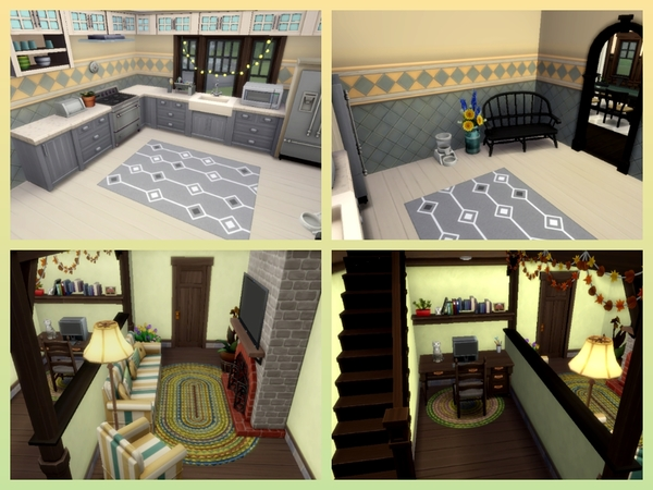 Hillside Manor by Mini Simmer at TSR image 5124 Sims 4 Updates