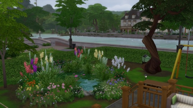 Sims 4 130 Sim Lane house by richrush at Mod The Sims