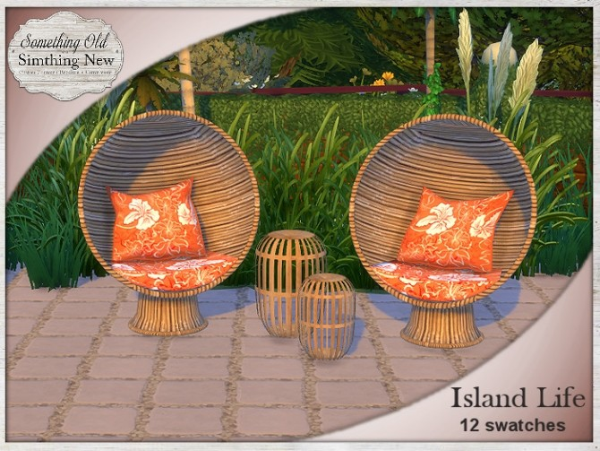 Sims 4 Island Life set at Simthing New