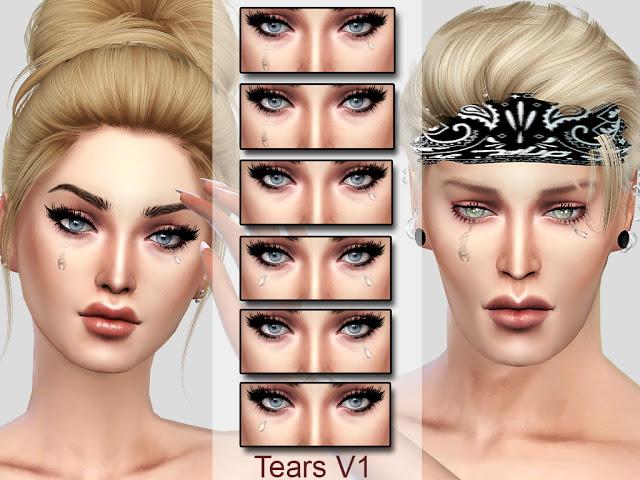 Sims 4 Tears V1 at MSQ Sims