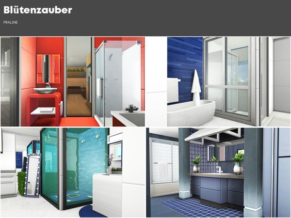 Sims 4 Bluetenzauber house by Pralinesims at TSR