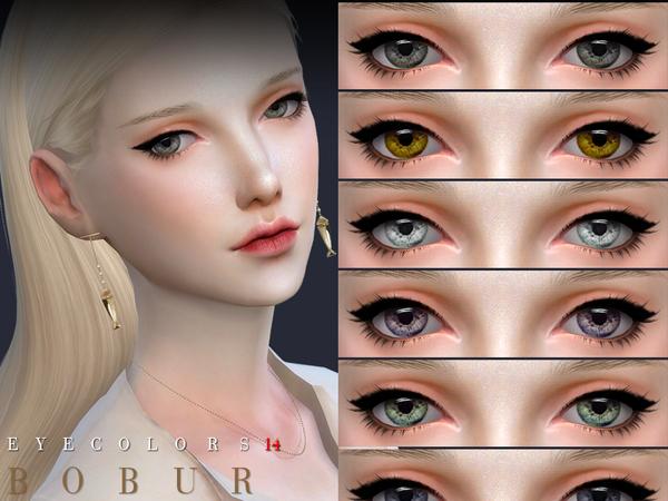 Sims 4 Eyecolors 14 by Bobur3 at TSR
