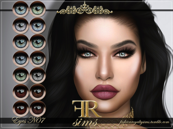 FRS Eyes N07 by FashionRoyaltySims at TSR image 546 Sims 4 Updates