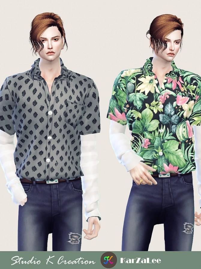 Sims 4 Giruto 59 layered shirt at Studio K Creation