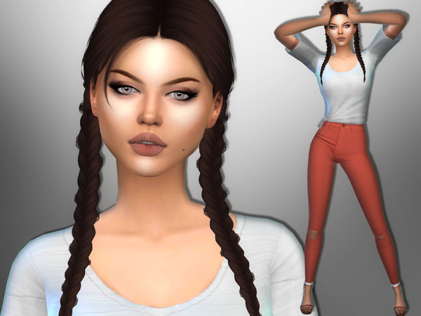 Sandra Myles by divaka45 at TSR image 557 Sims 4 Updates