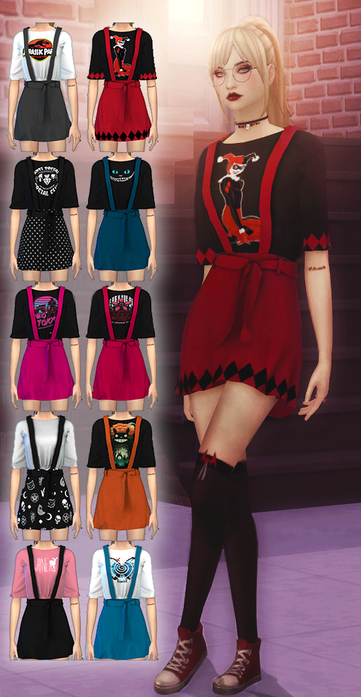 Nerdy Dress at Dreacia image 5714 Sims 4 Updates