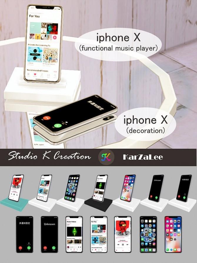 Sims 4 iphone X set at Studio K Creation