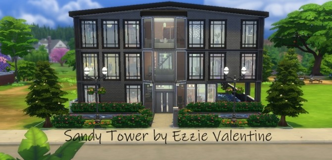 Sandy Tower by EzzieValentine at Mod The Sims image 5914 670x323 Sims 4 Updates