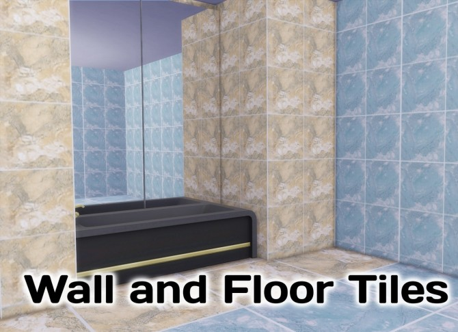 Sims 4 Monique Bathroom Tiles at Simming With Mary