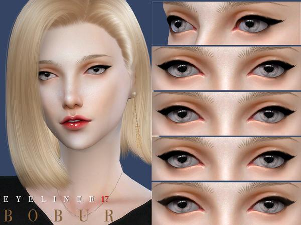 Eyeliner 17 by Bobur3 at TSR image 597 Sims 4 Updates