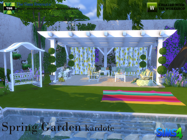 Spring Garde by kardofe at TSR image 60 Sims 4 Updates