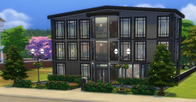 Sims 4 Sandy Tower by EzzieValentine at Mod The Sims