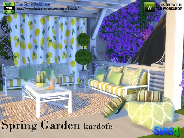 Spring Garde by kardofe at TSR image 61 Sims 4 Updates