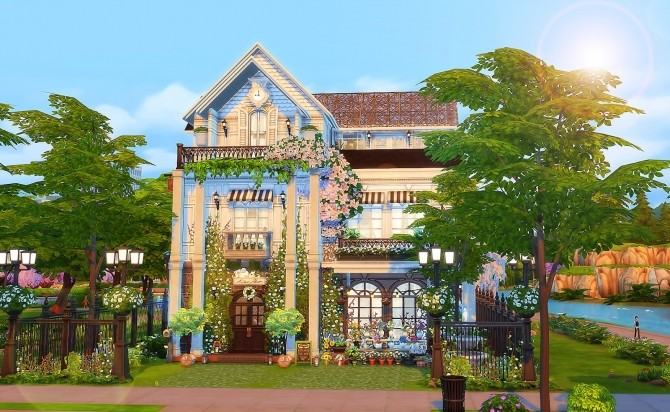 Parisian Flower Shop at Ruby's Home Design image 6118 670x412 Sims 4 Updates