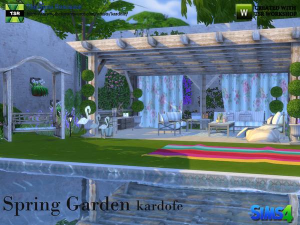 Spring Garde by kardofe at TSR image 62 Sims 4 Updates