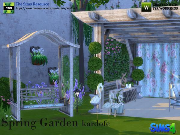 Spring Garde by kardofe at TSR image 63 Sims 4 Updates