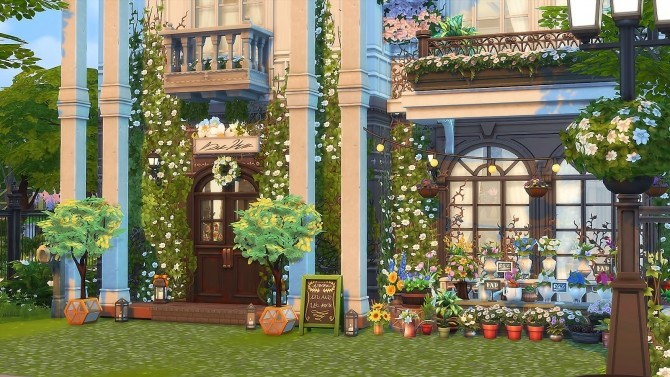 Parisian Flower Shop at Ruby's Home Design image 6413 670x377 Sims 4 Updates