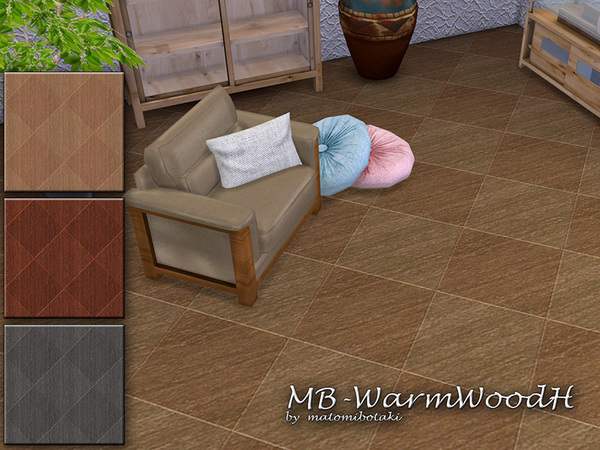 Sims 4 MB Warm Wood H by matomibotaki at TSR