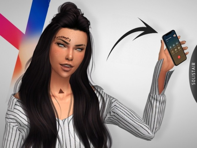 iPhone X ACC + POSEPACK at Solistair image 656 670x503 Sims 4 Updates