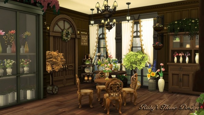 Parisian Flower Shop at Ruby's Home Design image 6614 670x377 Sims 4 Updates