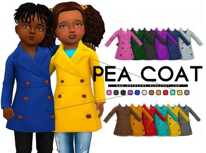 Toddler Pea Coat at Onyx Sims image 6616 670x497 Sims 4 Updates