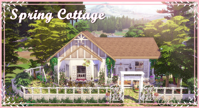 Spring Cottage at Lily Sims image 6711 Sims 4 Updates