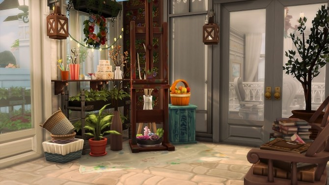 Parisian Flower Shop at Ruby's Home Design image 6714 670x377 Sims 4 Updates