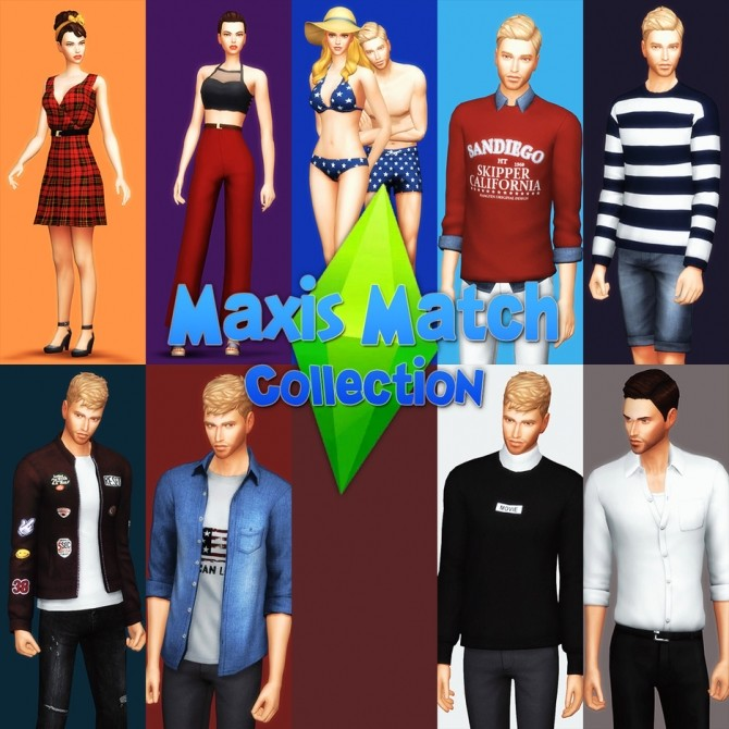 Maxis Match Collection at Gorilla image 672 670x670 Sims 4 Updates
