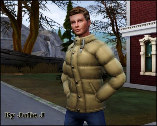 Sims 4 Another Male Seasons Coat Retextured at Julietoon – Julie J