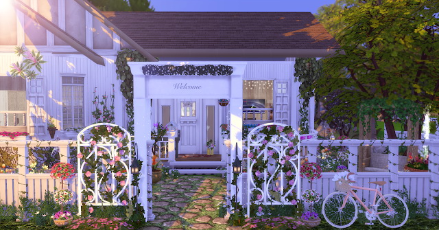 Spring Cottage at Lily Sims image 6811 Sims 4 Updates