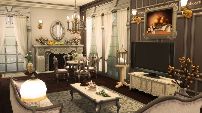 Parisian Flower Shop at Ruby's Home Design image 6814 670x377 Sims 4 Updates