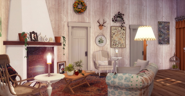 Sims 4 Spring Cottage at Lily Sims