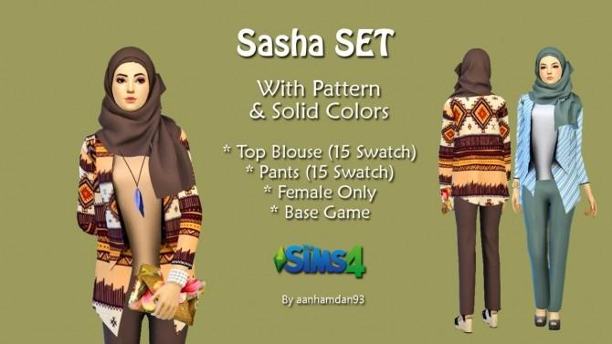 Hijab Model048 & Sasha SET at Aan Hamdan Simmer93 image 706 670x377 Sims 4 Updates