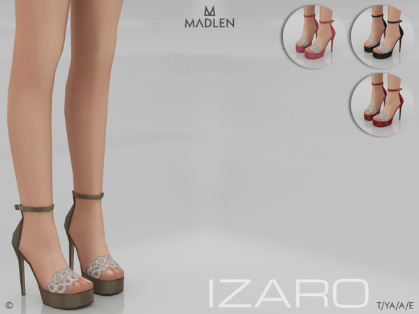 Madlen Izaro Shoes by MJ95 at TSR image 707 Sims 4 Updates