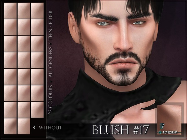 Blush 17 by RemusSirion at TSR image 708 Sims 4 Updates