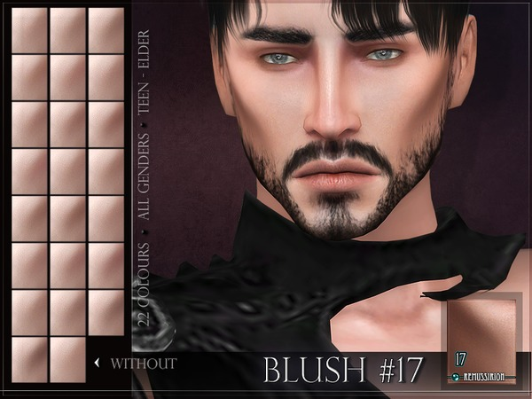 Blush 17 by RemusSirion at TSR image 7112 Sims 4 Updates