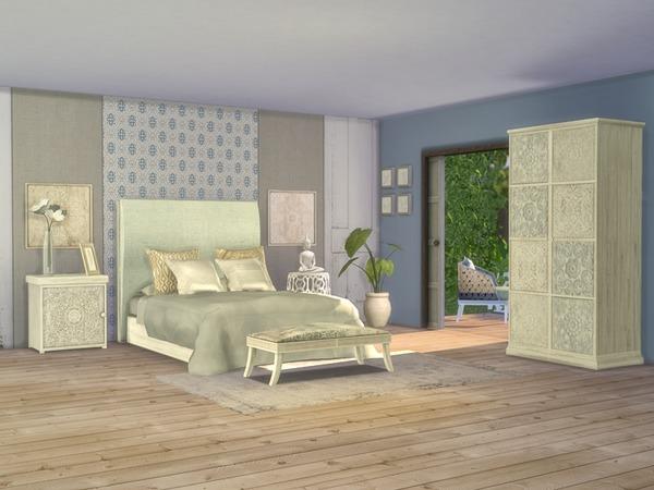 Giorno Bedroom by Nikadema at TSR image 716 Sims 4 Updates