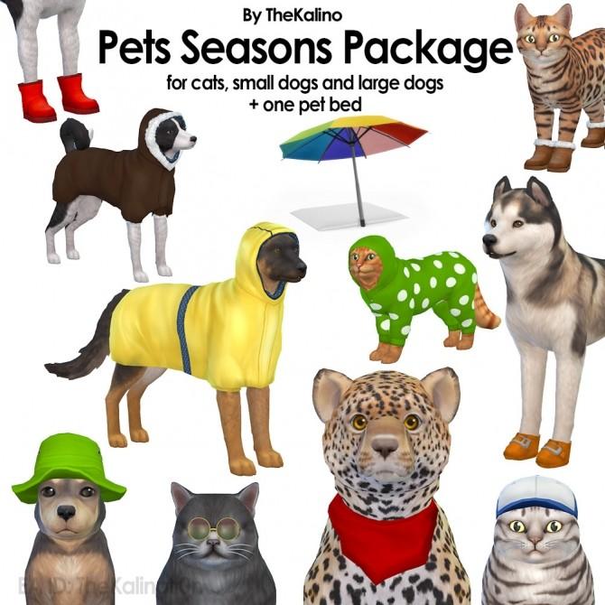 Pets Seasons Package at Kalino image 719 670x670 Sims 4 Updates