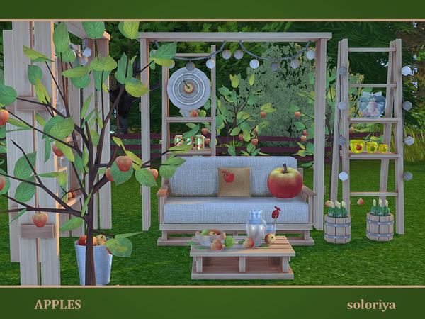 Apples set by soloriya at TSR image 7219 Sims 4 Updates