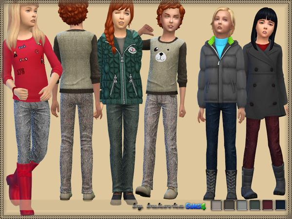 Tweed pants by bukovka at TSR image 7221 Sims 4 Updates