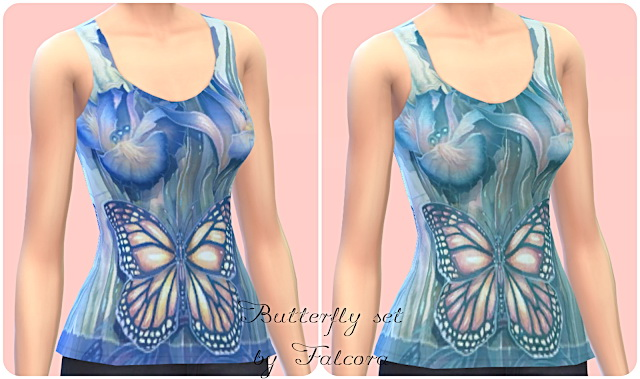 Butterfly Set 7x at Petka Falcora image 7222 Sims 4 Updates