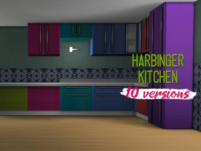 Harbinger kitchen at Midnightskysims image 724 670x503 Sims 4 Updates