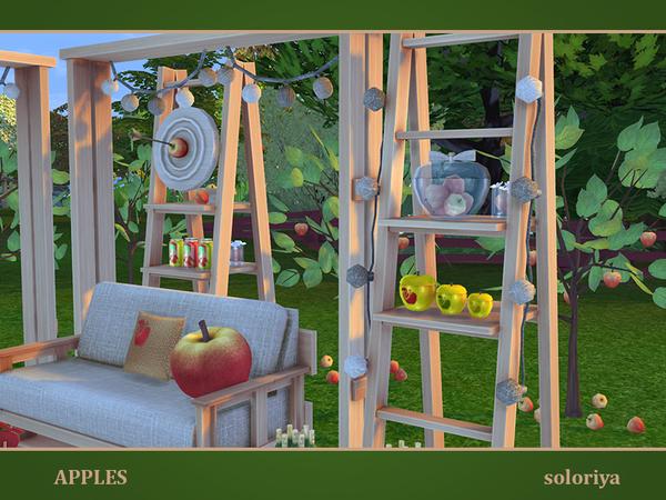 Apples set by soloriya at TSR image 7318 Sims 4 Updates