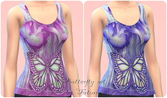 Butterfly Set 7x at Petka Falcora image 7321 Sims 4 Updates